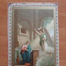 Postales: XIX ? ILUSTRACIÓN RELIGIOSA DE DEVOCIONARIO. Lote 221860835