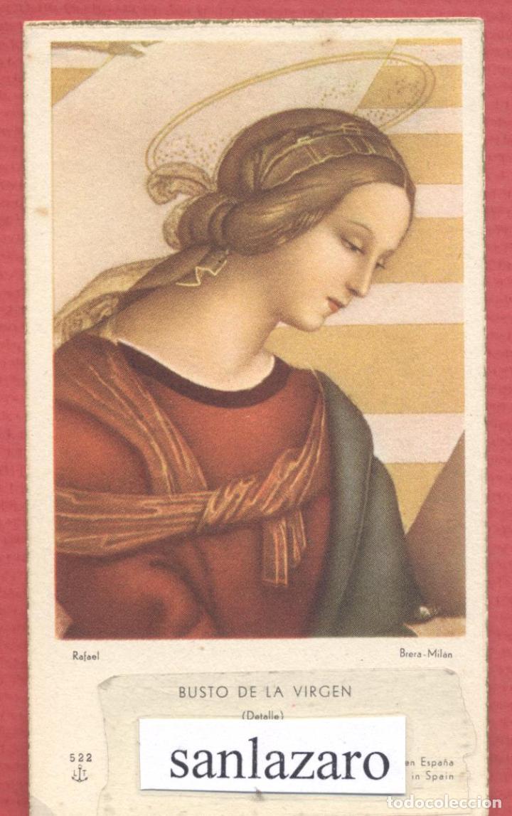 ESTAMPA RELIGIOSA VIRGEN MARIA EST.4111 (Postales - Postales Temáticas - Religiosas y Recordatorios)
