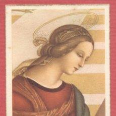 Postales: ESTAMPA RELIGIOSA VIRGEN MARIA EST.4111. Lote 221873608