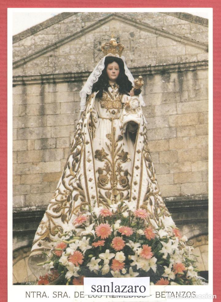 ESTAMPA RELIGIOSA NTRA.SRA.DE LOS REMEDIOS EST.4120 (Postales - Postales Temáticas - Religiosas y Recordatorios)
