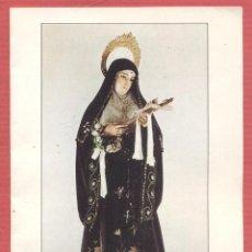 Postales: ESTAMPA RELIGIOSA SANTA RITA DE CAISA EST.4124. Lote 221883522