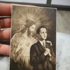 Postales: ESTAMPA RELIGIOSA 1932 ANTIGUA. Lote 221956046