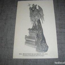 Postales: POSTAL RELIGIOSA MONASTERIO SAN MIGUEL DE LIRIA LLIRIA FOTOGRAFIA ARCANGEL. Lote 221956397
