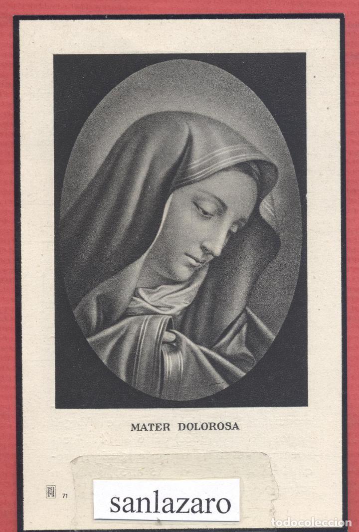 ESTAMPA RELIGIOSA IMAGEN DE LA VIRGEN EST.4125 (Postales - Postales Temáticas - Religiosas y Recordatorios)