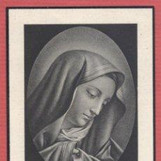 Postales: ESTAMPA RELIGIOSA IMAGEN DE LA VIRGEN EST.4125. Lote 221995757