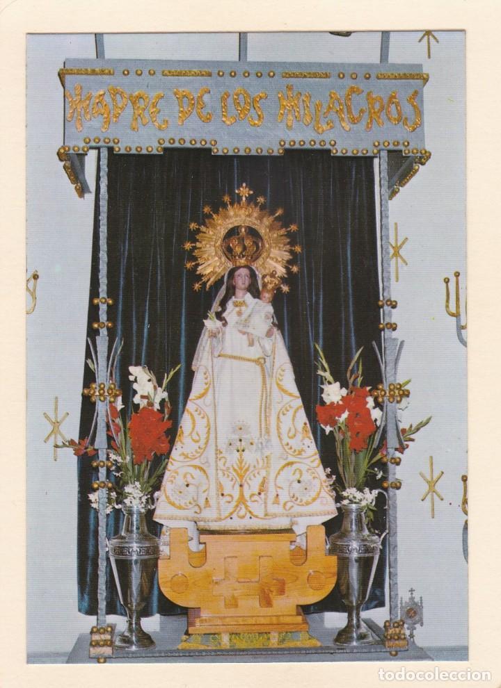 POSTAL NUESTRA SEÑORA DE LOS MILAGROS DE AMIL. MORAÑA. PONTEVEDRA (1978) (Postales - Postales Temáticas - Religiosas y Recordatorios)