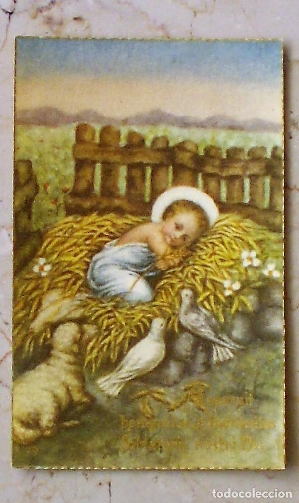 ESTAMPA RELIGIOSA APPARUIT - 10 X 7 - 79 (Postales - Postales Temáticas - Religiosas y Recordatorios)
