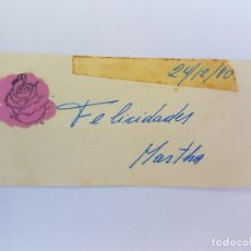 Postales: FELICIDADES, CONGRATULATIONS, TOUTES NOS FÉLICITATIONS, 1980. Lote 222186331