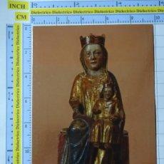 Postales: POSTAL RELIGIOSA SEMANA SANTA. AÑO 1990. VALLADOLID VIRGEN CON NIÑO. JUNTA CASTILLA LEÓN. 2476. Lote 222390902