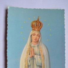 Postales: POSTAL RELIGIOSA. NTRA. SRA. DE FÁTIMA. ED. CYZ. NO ESCRITA.. Lote 222393582