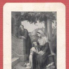 Postales: ESTAMPA RELIGIOSA SAGRADA FAMILIA EST.4177. Lote 222537551