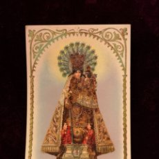 Postales: POSTAL ANTIGUA - NUESTRA SEÑORA DE LOS DESAMPARADOS - 9 X 14 CM. Lote 222547895