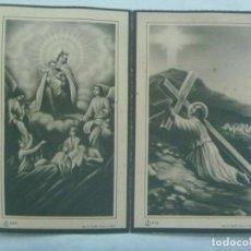 Postales: RECORDATORIO DE SEÑOR FALLECIDO EN SEVILLA EN 1945. Lote 222609376