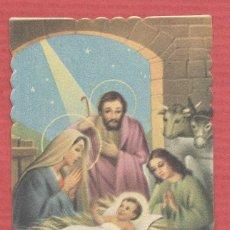 Postales: ESTAMPA RELIGIOSA DE LA SAGRADA FAMILIA EST.4183. Lote 222640391