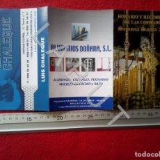 Postales: SANLUCAR SEMANA SANTA PROGRAMA 2010 C19. Lote 222754373
