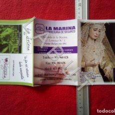 Postales: SANLUCAR SEMANA SANTA PROGRAMA 2012 C19. Lote 222754577