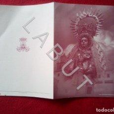Postales: SANLUCAR PROGRAMA FIESTAS VIRGEN DE LA CARIDAD C14. Lote 222757090