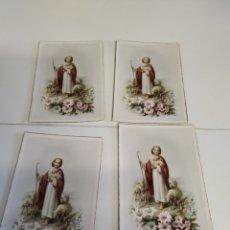 Postales: 4 POSTALES REPETIDAS S.FLORA. Lote 222887976