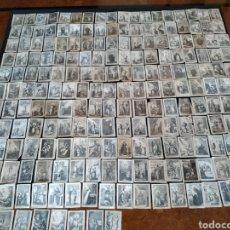 Postales: LOTE COLECCIÓN RECORTES RELIGIOSOS SANTOS Y SANTAS. Lote 224495880