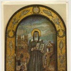 Postales: POSTAL RELIGIOSA. SANTA LUISA DE MARILLAC. MOSAICO DE PRADOS P-REL-525. Lote 224972370