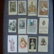 Postales: GRAN LOTE ESTAMPAS Y RECORDATORIOS CORAZÓN JESUS VIRGEN LEGUENDICA JESUS PRAGA FRANCISCO SALES. Lote 226792045