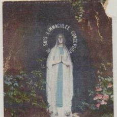 Postales: POSTAL RELIGIOSA. LOURDES. LA VIERGE DE LA GROTTE P-REL-539. Lote 227167595
