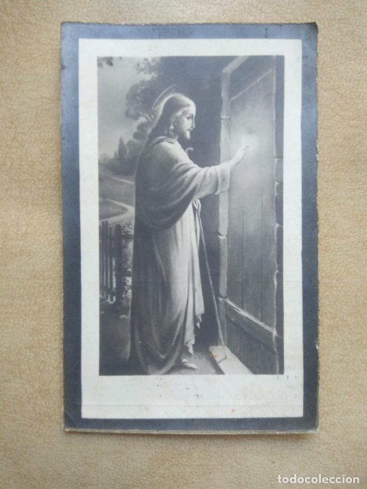 RECORDATORIO ANTIGUA ESQUELA (Postales - Postales Temáticas - Religiosas y Recordatorios)