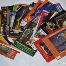 Postales: 50 ITINERARIOS VARIADOS DE SEMANA SANTA / MÁLAGA 2.008 - DIFERENTES EMPRESAS, ENTIDADES, COFRADÍAS... Lote 228431850