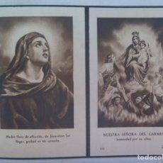 Postales: GUERRA CIVIL: RECORDATORIO MILICIANO NACIONAL, CAIDO POR DIOS Y ESPAÑA, AVILA 1939. UN DIA ANTES FIN. Lote 228476355