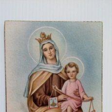 Postales: P158 POSTAL RELIGIOSA VIRGEN CON NIÑO JESUS 42. Lote 229378530