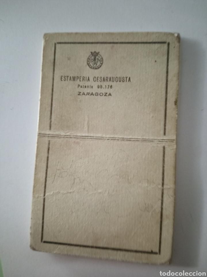 Postales: SAN ANTONIO DE PADUA antigua estampa recordatorio ESTAMPERIA CESARAUGUSTA ZARAGOZA - Foto 2 - 233695670
