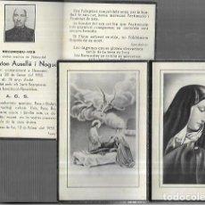 Postais: RECORDATORIO DEFUNCIÓN * LLAMPAIES - LA CELLERA DE TER ,1953. Lote 233731305