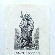 Postales: ESTAMPA DE SAN JOSÉ. IN MEMORIAM DEL OBISPO DE CÁDIZ RANCÉS Y VILLANUEVA. CÁDIZ, 1917. Lote 234367005