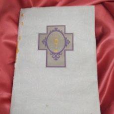 Postales: RECORDATORIOS COMUNIÓN 2 FOTOGRAFÍAS VILLARREAL AÑO 1934-5 APROX. PAPEL-84. Lote 234644745