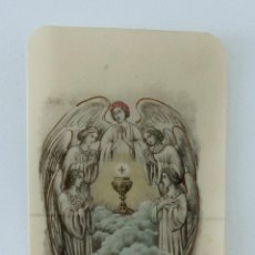 Postales: ANTIGUO RECORDATORIO PRIMERA COMUNIÓN. 1916. CELULOIDE. W. Lote 234830215