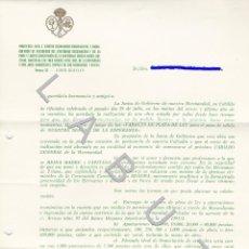 Postales: ESPERANZA DE TRIANA CAPILLA MARINEROS SEMANA SANTA SEVILLA C44. Lote 235365455