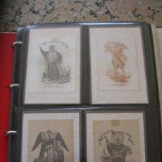Postales: SAN VICENTE FERRER PATRON DE VALENCIA, CONJUNTO COLECCION DE ESTAMPAS, POSTALES Y OTROS. Lote 235733975
