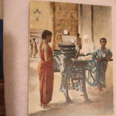 Postales: POSTAL.LA FRANCISCANAS MISIONERAS DE MARIA EN EL CONGO BELGA.. Lote 238528310