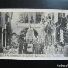 Postales: PROCESION-SANTO DOMINGO-FOTOGRAFICA-POSTAL ANTIGUA-(77.302). Lote 238661035