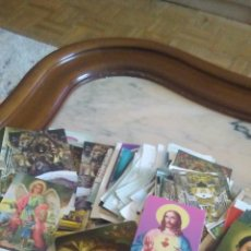 Postales: LOTE DE 200 ESTAMPAS RELIGIOSAS,SURTIDAS ,AÑOS 60__70 .. Lote 238794540