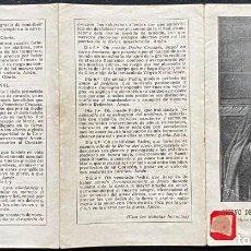 Postales: BIOGRAFIA DEL SIERVO DE DIOS P. FRANCISCO CRUSATS. Lote 240219745