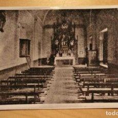 Postales: FOTOGRAFÍA RELIGIOSA - CAPILLA ANTIGUO SEMINARIO CONCILIAR LÉRIDA - AMPLIACIÓN DE LA ORIGINAL. Lote 240968405