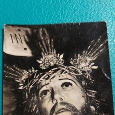 Postales: FOTO RELIGIOSA DEL CRISTO DEL PERDON -CADIZ- MIDE 8X5CM. Lote 241289120