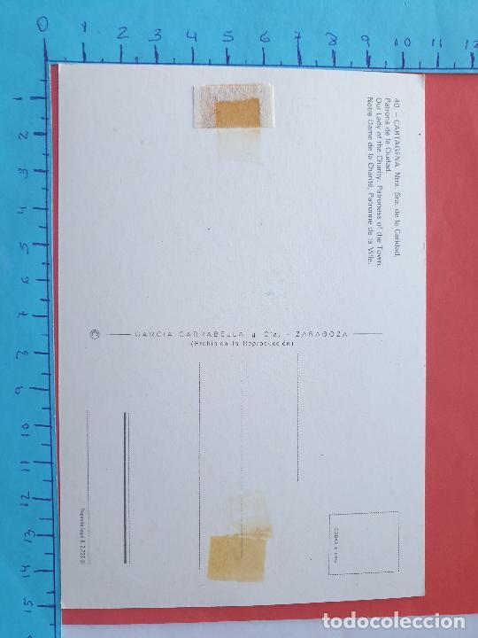 Postales: NTRA. SRA. DE LA CARIDAD ( PATRONA DE CARTAGENA - MURCIA ) // ( PTL RELIGIOSA II ) - Foto 2 - 241442800