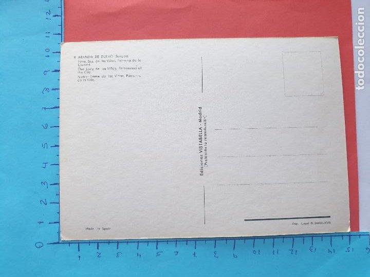 Postales: NTRA. SRA. DE LAS VIÑAS ( PATRONA DE ARANDA DE DUERO - BURGOS ) // ( PTL RELIGIOSA II ) - Foto 2 - 241444380