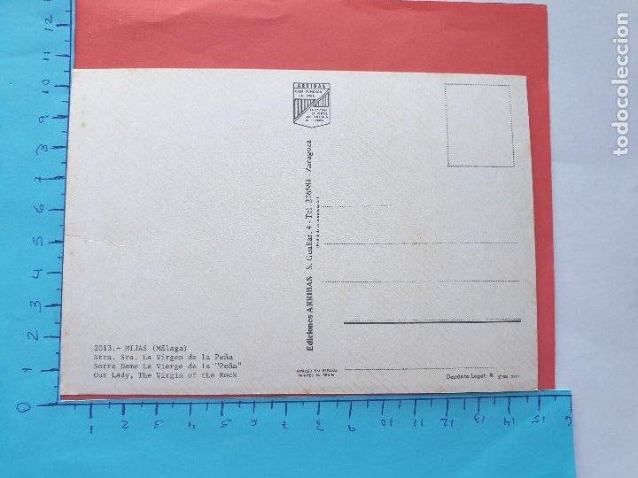Postales: NTRA. SRA. LA VIRGEN DE LA PEÑA ( MIJAS - MALAGA ) // ( PTL RELIGIOSA II ) - Foto 2 - 241445665