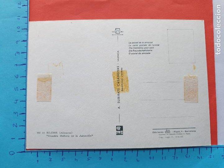 Postales: NTRA. SRA. DE LA ASUNCION ( ELCHE - ALICANTE) // ( PTL RELIGIOSA II ) - Foto 2 - 241447055