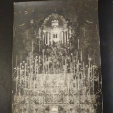 Postales: POSTAL FOTOGRÁFICA VIRGEN CON NIÑO EN ALTAR.SIN CIRCULAR.. Lote 241896215