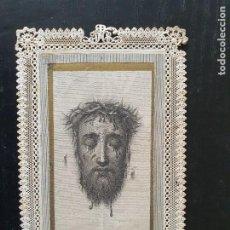 Postales: ESTAMPA RELIGIOSA TROQUELADA, DE JESÚS. Lote 242345635