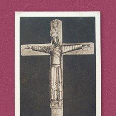 Postales: ANTIGUA POSTAL RELIGIOSA - LA SANTA MAJESTAT DE CALDES DE MONTBUI. Lote 242451040